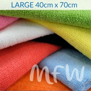 Large Knitted Microfibre Cloths