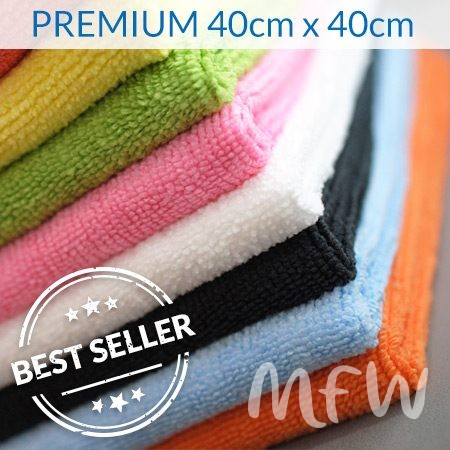 Premium Knitted Microfibre Cloths
