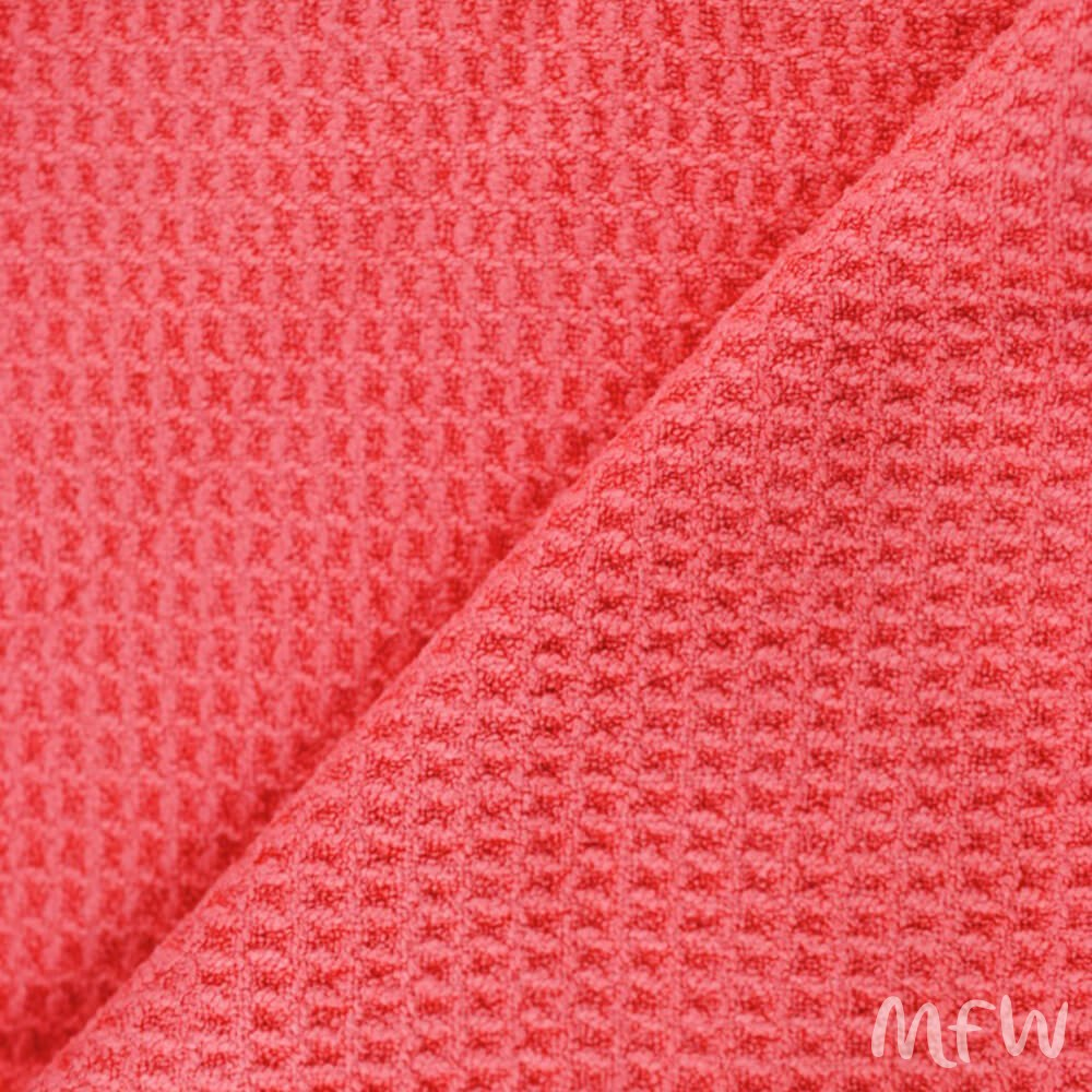 Red Woven Microfibre Cloths