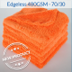 Edgeless Orange 280 Microfibre Towel